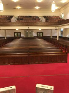 Kernersville Moravian Church Sanctuary