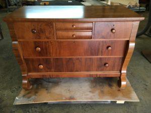Refinished Walnut Dresser
