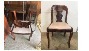 Broken chair repair