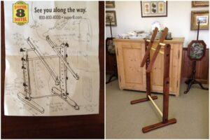 Needlepoint Stand from Drawings