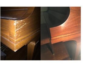 Piano Repair Scratch Removal