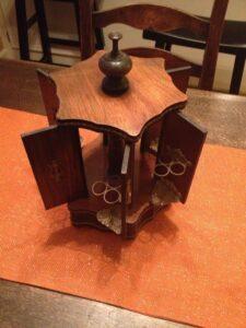 Restored Antique Carousel Music Box