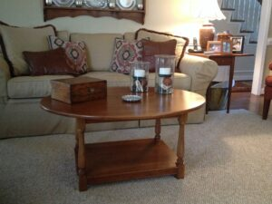Custom-made Cherry Coffee Table