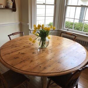 Refinished Table Example